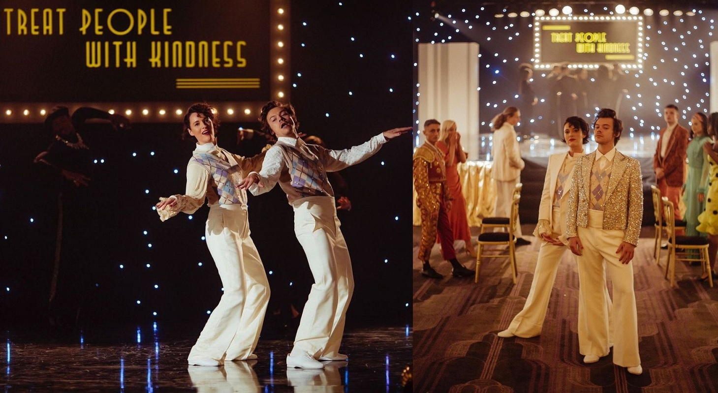 "Harry Styles i Phoebe Waller-Bridge u spotu za pesmu ""TREAT PEOPLE WITH KINDNESS"""