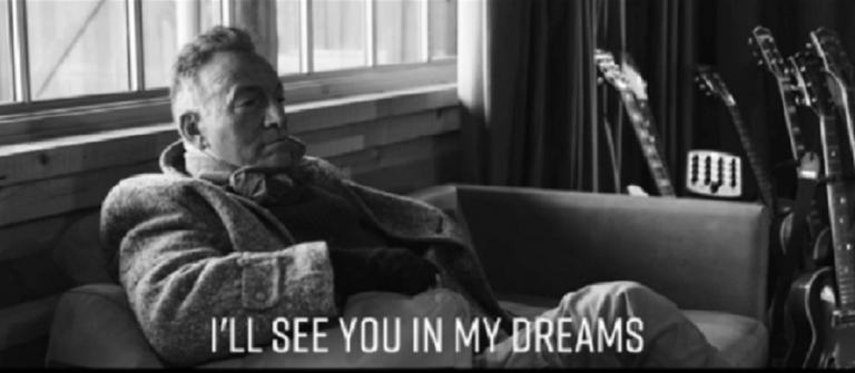 """BRUCE SPRINGSTEEN I'll Se you In My Dreams"""""""